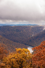 MCZ_2171 (markczerner) Tags: landscape outdoors fall colors fallcolors autumn orange red trees nature river coopers rock coopersrock statepark park west virginia wv wva countryroads country roads cheatriver valley mountains forest