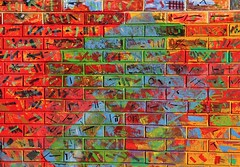 Urban art (carlos_ar2000) Tags: arte art calle street graffiti color colour abstracto abstract surreal pared muro wall buenosaires argentina