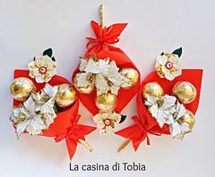 fiore asiatico feltro e cristalli Swarovski (Martha Mollichella Handmade Jewellery) Tags: fiore asiatico feltro e cristalli swarovski bouquet fiori di cioccolato con