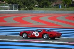 BIZZARRINI 5300 GT - 1965 (SASSAchris) Tags: bizzarrini 5300 gt voiture italienne 10000 tours castellet circuit ricard v8 stradale