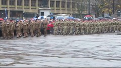 To Mark 100 Years 1918-2018 Of The End Of The First World War Armistice Remembrance Day Four Part Video At The Cenotaph In George Square Glasgow Scotland 2018 - 3 Of 4 (Kelvin64) Tags: to mark 100 years 19182018 of the end first world war armistice remembrance day four part video at cenotaph in george square glasgow scotland 2018