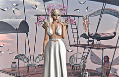 In My Dreams (JarSephora) Tags: gacha garden since 1975 since1975 paraland hextraordinary faerie maidens lovely alien druid borgia fortunna jewelry lyrium belle epoque adriana gown white heaven angel fantasy entwined alison light blondes catwa bento head secondlife second life sl style fash fahsion jarsephora jar sephora blog blogger blogging outfit companioon virtual wrold female woman girl fary