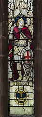 Waltham on the Wolds, St Mary Magdalene church, window detail (Jules & Jenny) Tags: stmaryschurch walthamonthewolds stainedglasswindow