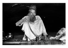 the sadhu speaks (handheld-films) Tags: india portrait portraiture sadhu priest ascetic hindu temple shiva cave rajasthan religion religious society culture worship worshipper mono blackandwhite documentary travel subcontinent