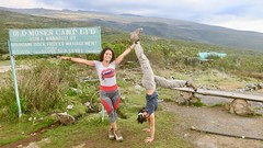 """Day 1 at Mount Kenya National Park: after a 3 hours afternoon hike we made it to the Old Moses camp at 3300m above sea level.  Kenya  Nov 2018 #itravelanddance • <a style=""""font-size:0.8em;"""" href=""""http://www.flickr.com/photos/147943715@N05/45114843384/"""" target=""""_blank"""">View on Flickr</a>"""