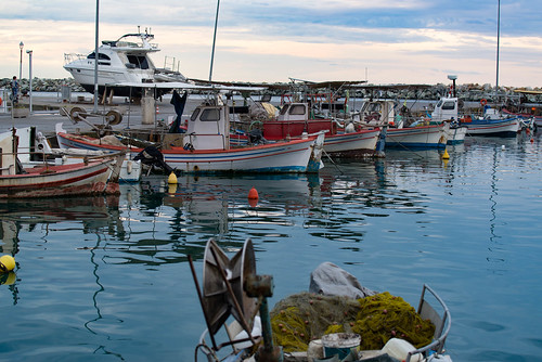 Hafen von Platamon, Thessalien