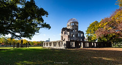 Dôme de Genbaku (Dôme de la Bombe A), symbole d'Hiroshima ville de la paix ... (Hiroshima, Japon) (Rossell' Art) Tags: hiroshima japon