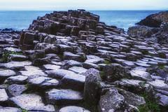 The giant's causeway (-liyen-) Tags: giantscauseway northernireland ocean rocks basaltcolumns geometric evening countyantrim amazing summer travelphotography fujixt2