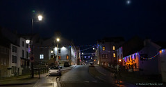 Maryport lights (Rourkeor) Tags: 35mm 35mmzeisssonnartlens carlzeiss christmaslights christmastime cumbria england maryport rx1r sony uk bright colourful fullframe handheldnightshot nighttime reflections sonyflickraward