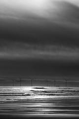 "wind turbines dwarfing ships, seen through the winter afternoon gloom, fine art black & white, Newburgh Beach, Aberdeenshire, Scotland (grumpybaldprof) Tags: ""newburghbeach"" ""sandsofforvie"" aberdeenshire scotland newburgh ""sandsofforvienaturereserve"" beach sand sea ""northsea"" ""ythanriver"" sky clouds perspective north estuary colour sun patterns texture landscape seascape aberdeen ""aberdeenbaywindfarm"" ""europeanoffshorewinddeploymentcentre"" eowdc offshore windfarm windturbines ""offshorewindfarm"" turbines blackdog ""bridgeofdon"" canon 7d ""canon7d"" 100 100mm f28 macro ""isusm"" ""canonef100mmf28lmacroisusm"" bw blackwhite ""blackwhite"" ""blackandwhite"" noireetblanc monochrome ""fineart"" ethereal striking artistic interpretation impressionist stylistic style contrast shadow bright dark black white illuminated"