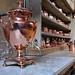 Copper kitchen utensils