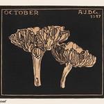 October (1917) by Julie de Graag (1877-1924). Original from The Rijksmuseum . Digitally enhanced by rawpixel thumbnail