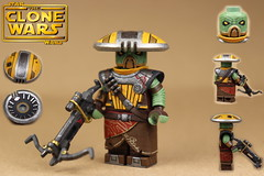 Custom LEGO Star Wars The Clone Wars: Embo (Will HR) Tags: lego starwars theclonewars bounty hunters custom minifigure embo hats voice god