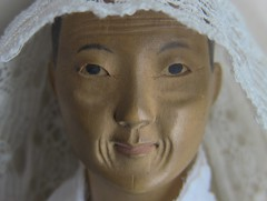 Door of Hope doll. Elderly old woman. The new owner absolutely adores her ... yeah!!! (leaf whispers) Tags: doorofhope doll mission china old elderly woman grandmother wood carved antique vintage chinese wooden forsale buy