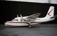 EP-AGH. Aero Commander 500B (Ayronautica) Tags: ayronautica aviation scanned prestwick pik egpk epagh aerocommander500b