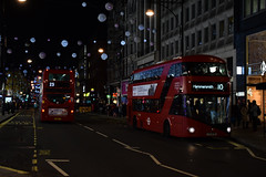 Not here this Christmas (e400olympus) Tags: oxford street circus bus lt nbfl routemaster ratp tower transit 10 23 enviro400 enviro 400 hybrid