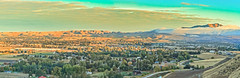 Panoramic Foggy Morning (http://fineartamerica.com/profiles/robert-bales.ht) Tags: facebook forupload gemcounty idaho landscape pets photouploads places projects scenic states mountain emmett sweet storm squawbutte farm rollinghills idahophotography treasurevalley sunrise clouds spring emmettvalley emmettphotography trees yellow thebutte haybales canonshooter beautiful sensational awesome surreal sublime spiritual inspirational wow robertbales butte gem town treasurevalleysquawbutte valley sunset fog morning panoramic pano
