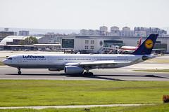 D-AIKH | Lufthansa | Airbus A330-343 | CN 648 | Built 2005 | LIS/LPPT 04/05/2018 (Mick Planespotter) Tags: aircraft airport 2018 sharpenerpro3 nik daikh lufthansa airbus a330343 648 2005 04052018 portela portugal delgado humberto humbertodelgado a330 lh lisbon lis lppt