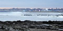 Whitley Bay  - Early Morning Waves (Gilli8888) Tags: whitleybay coast coastal coastline northsea northeast nikon p900 coolpix sea water marine seafront waves rocks bay spanishcity dawn
