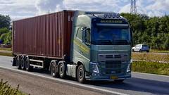 AH79527 (16.09.01)DSC_9940_Balancer (Lav Ulv) Tags: 210257 volvo volvofh fh4 guldagertransport guldager henrikguldager 2013 e5 euro5 6x2 fh460 firstclass green container tex truck truckphoto truckspotter traffic trafik verkehr cabover street road strasse vej commercialvehicles erhvervskøretøjer danmark denmark dänemark danishhauliers danskefirmaer danskevognmænd vehicle køretøj aarhus lkw lastbil lastvogn camion vehicule coe danemark danimarca lorry autocarra danoise vrachtwagen trækker hauler zugmaschine tractorunit tractor artic articulated semi sattelzug auflieger trailer sattelschlepper vogntog oplegger sættevogn motorway autobahn motorvej vibyj highway hiway autostrada
