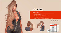 ICONIC_AMERIE_BANNER (Neveah Niu /The ICONIC Owner) Tags: iconic salon 52 long pony multistyler 3dmesh 3dart rigged dramatic