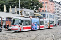 BRN_1926_201811 (Tram Photos) Tags: skoda škoda 13t brno brünn strasenbahn tram tramway tramvaj tramwaj mhd šalina dopravnípodnikměstabrna dpmb