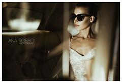 Wedding Photographer Ana Rosso (Vestuvių fotografas / Wedding Photographer) Tags: portrait bride fashion beauty glamour vogue sunglasses car retrocar dress weddings wedding