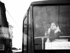 (nerapavlo) Tags: lemberg lwow ukraine lviv melancholy monochrom noire noir streetphotography street