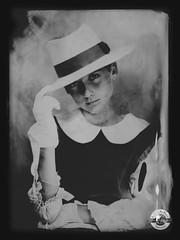 PassyBoy (LA CAGE AUX FAUVES) Tags: vintage oldpict ambrotype ferrotype portrait nb collodion