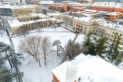 2019 - January - CHS - Snowy Winter Break Sunday-82-HDR.jpg (ISU College of Human Sciences) Tags: building winter forker campus buildings foodsciencebuilding morrill snow lagomarcino ringoflife drone campanile scenic palmer fshn chs mackay beauty