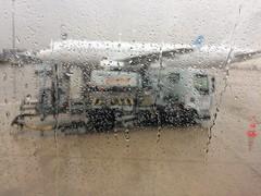 Precipitation (charliejb) Tags: precipitation charlesdegaulleairport france seineetmarne airport rain water aircraft jet 2018