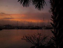 At the Marina (mimsjodi) Tags: sunrise dawn titusvillefl marina water indianriverlagoon