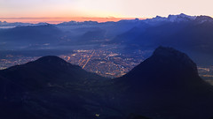 Grenoble (Antoine.Auger) Tags: alpes isere france vercors chartreuse belledonne pinea neron sunset landscape paysage