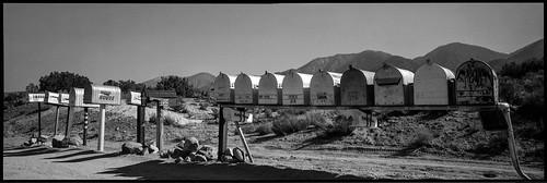 Mail Boxes nr. Juniper Hills, CA.