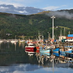 Au port, Ullapool, Ross and Cromarty, Ecosse, Grande-Bretagne, Royaume-Uni. thumbnail