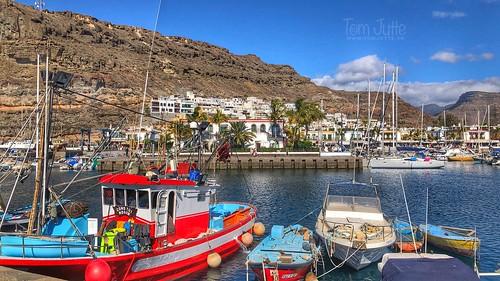 Marina, Puerto de Mogan, Gran Canaria, Spain - 2211