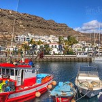 Marina, Puerto de Mogan, Gran Canaria, Spain - 2211 thumbnail