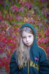 autumn portrait (Angelo Petrozza) Tags: autumn portrait fall hair model ritratto eyes occhi hd70mmlimited angelopetrozza australia green verde
