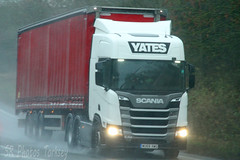 Scania R460 Yates WU68 XWG (SR Photos Torksey) Tags: transport truck haulage hgv lorry lgv logistics road commercial vehicle freight traffic scania yates