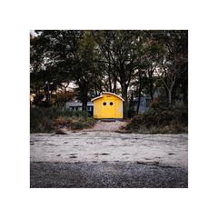 Timmendorfer Strand X (Passie13(Ines van Megen-Thijssen)) Tags: deutschland timmendorferstrand beach strand yellow geel gelb fujifilm x100f inesvanmegen inesvanmegenthijssen evening avond abend