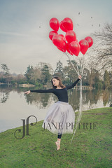 Olivia with Balloons (3 of 3) (JPetriePhotography) Tags: naturallight olivia personal ballet balloons dunorlanpark fillflash janepetriephotography kent park photographer tunbridgewells