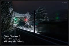 "Krausel Tunnel At Night ("" Wiener Schule "") Tags: öbb oebb obb austria semmering ghega breitenstein semmeringbahn krauselklause viadukt krauseltunnel tunnel eisenbahn railway railroad"