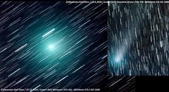 46p vs 21p (achrntatrps) Tags: 46pwirtanen komet cometa astronomy nightshot comet comète night nikon nuit astrophotographie astrophotography astrophoto astronomie alexandredellolivo dellolivo photographe photographer achrntatrps achrnt atrps radon200226 radon etoiles stars sterne estrellas stelle nacht nicht noche notte lachauxdefonds d5300 queue tail magnifique magnificent beautiful marvellous merveilleux beau beauty skywatcher télescope eq6rpro 21pgiacobinizinner