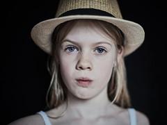 Hat (PascallacsaP) Tags: hat frontal portrait portraiture kodakportra400nc filmsimulation captureonepro seriouslook windowlight naturallight ambientlight windowlighting mitakon zhongyimitakonspeedmaster35mmf095markii speedmaster 35mm f095