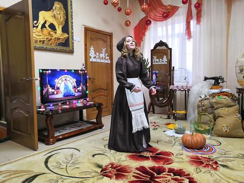 В социально-реабилитационном центре станицы Ленинградской  прошел новогодний утренник