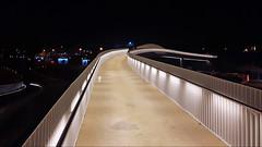 03_68 near MAAT (k_man123) Tags: portugal lisboa lisbon belem maat museum night evening light dark architecture bridge pedestrian footbridge