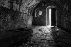 DSC00713 (http://georgepramaggioulis.wixsite.com/aperture) Tags: urban prison greece nafplio bw blackandwhite architecture past shadows light abandonment palamidi
