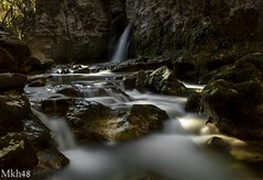 Confluence  à Conflens (paul.porral) Tags: suisse switzerland landscape paysage waterfall wasserfall tinedeconflens poselongue longexposure naturephotography countryside outside nature water river goldenhour cascade flickr ngc