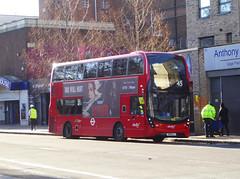 AB 2616 - SN18KLJ - CAMBERWELL ROAD - THUR 17TH JAN 2019 (Bexleybus) Tags: camberwell road se5 london abellio adl dennis enviro 400 mmc tfl route 45 2616 sn18klj