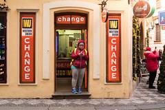 change (99streetstylez) Tags: streetphotography 99streetstylez people woman girl color prague street photography czech praha